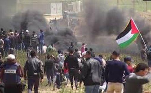 На границе с Газой вспыхнули ожесточенные столкновения: есть пострадавшие