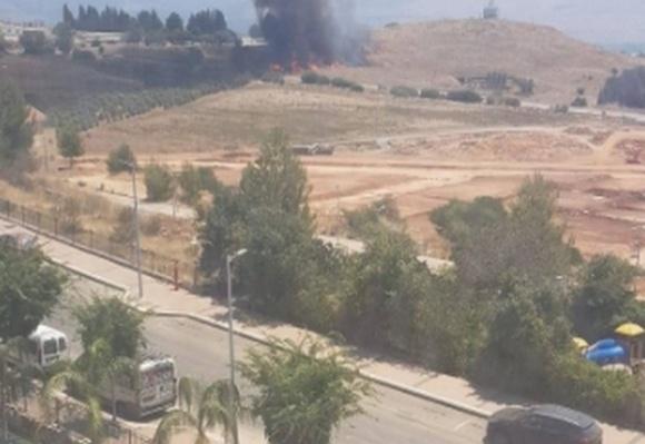 В районе Кирьят-Шмоны взорвалась ракета