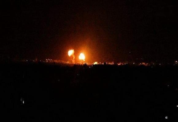 Волна атак ЦАХАЛа в Газе