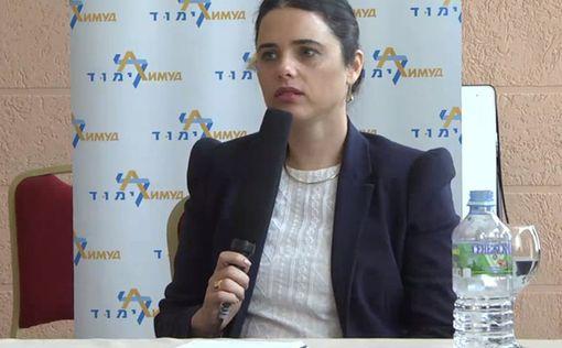Аелет Шакед: Никаких ограничений на Рош Ха-Шана не будет