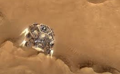 Марсоход NASA получил первый образец марсианской породы